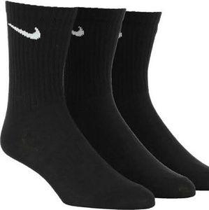 Women's Nike Crew Socks 3 Pairs, 8_12 Shoe Size
